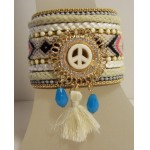 Gypsy Armband Peace wit