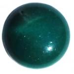 Cuoio Schuifsteen Centroperla Dark-Teal-Green 12-mm