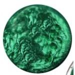Cuoio Schuifsteen  Pearl-Shine Alhambra-Green 12 mm