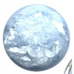 Cuoio Schuifsteen Pearl-Shine Cloud-Blue 12-mm