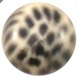 Cuoio Schuifsteen Leopard Light Peach 12 mm