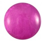 Cuoio Schuifsteen Mosso Shiny Purple Orchid 12 mm