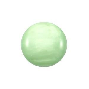 Cuoio Schuifsteen Mosso Shiny Crysolite Green 12 mm