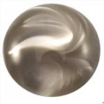 Cuoio Schuifsteen Look Zilver Grijs 12 mm