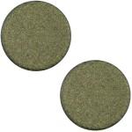 Cuoio Schuifsteen Soft Plat Mat Army Green