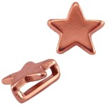 Cuoio Schuiver Rose Gold Ster