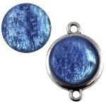 Cuoio Schuifsteen Pearl Shine Deep Ultramarine Blue 20 mm