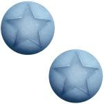 Cuoio Schuifsteen Star Light Sapphire 20 mm