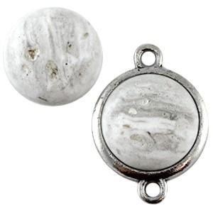 Cuoio Schuifsteen Rockstar Stone Look White Grey 20 mm