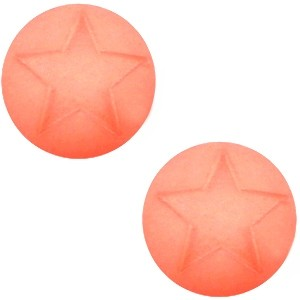 Cuoio Schuifsteen Star Rose Peach 20 mm