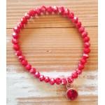 Facet-Armband Light Siam Rosé Goud