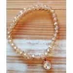 Facet-Armband Light Rose Diamond Rosé Gold