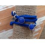 Wikkelamband Ibiza Ultramarine-blauw